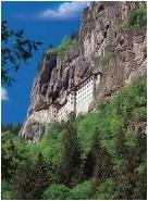 Настольная игра Сумела, монастырь. Пазл 1000 деталей