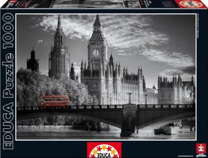 Настольная игра Лондонский автобус. Пазл, 1000 элементов