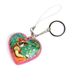 Настольная игра Сердце: Кролики. Шаровый пазл-брелок, 16 элементов