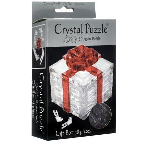 Настольная игра  Подарок, цвет: прозрачный. Объемный 3D-пазл, 38 элементов