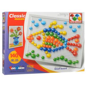 Настольная игра Удивительные животные, Мозаика 140 элементов