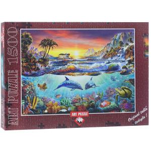 Настольная игра Тропический рай (А.Честерман), Пазл 1500 деталей