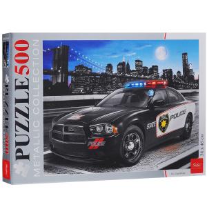 Настольная игра Городская полиция. Пазл 500 элементов, металлик