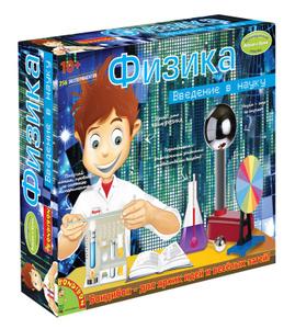 Настольная игра Физика - французские научно-познавательные опыты Науки с Буки