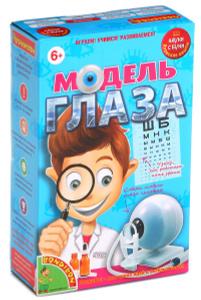 Настольная игра Модель глаза - японские научно-познавательные опыты Науки с Буки