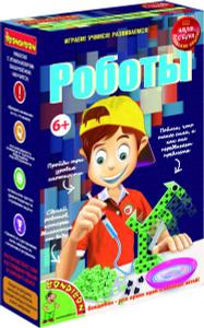 Настольная игра Роботы - японские научно-познавательные опыты Науки с Буки