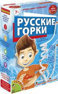 Настольная игра Русские горки - японские научно-познавательные опыты Науки с Буки