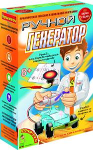 Настольная игра Ручной генератор - японские научно-познавательные опыты Науки с Буки