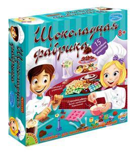 Настольная игра Шоколадная фабрика (15 экспериментов) - французские кулинарные опыты Науки с Буки