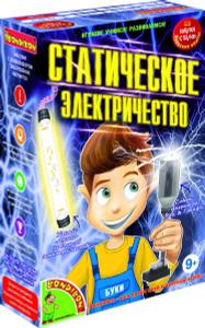 Настольная игра Статическое электричество - японские научно-познавательные опыты Науки с Буки