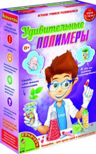 Настольная игра Удивительные полимеры - японские научно-познавательные опыты Науки с Буки