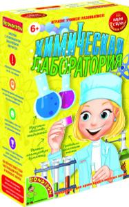 Настольная игра Химическая лаборатория - японские научно-познавательные опыты Науки с Буки