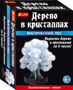 Настольная игра Магический лес (белый) - Сад пушистых кристаллов