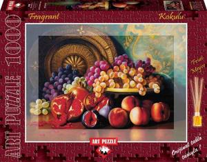 Настольная игра Натюрморт с фруктами (с ароматом). Пазл 1000 дет.