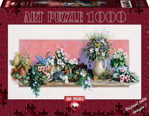 Настольная игра Мир цветов (Э. Эрвин), Пазл-панорама 1000 элементов