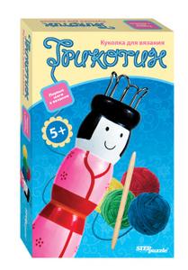 Настольная игра Куколка Трикотин. Развивающая игра