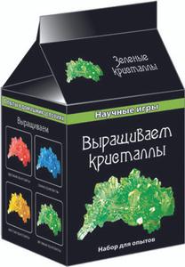 Настольная игра Выращиваем кристаллы (зеленые) (Н) - Научные игры (мини)