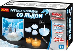 Настольная игра Интересные эксперименты со льдом. Наборы для экспериментов