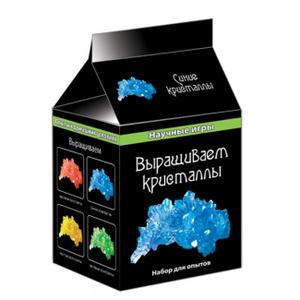 Настольная игра Выращиваем кристаллы, цвет: синий. Набор для исследований