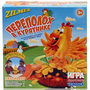 Настольная игра Переполох в курятнике (Zilmer)