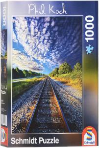 Настольная игра Страсть к путешествиям, Фил Коч. Пазл, 1000 элементов