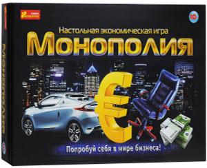 Настольная игра Монополия Евро