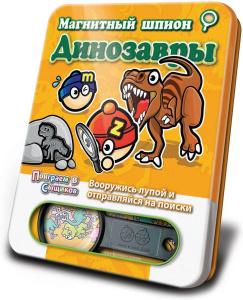 Настольная игра Динозавры. Магнитная игра