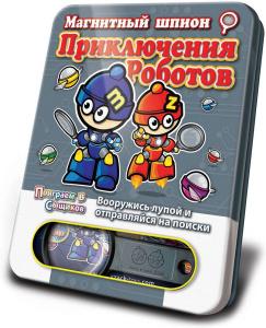 Настольная игра Приключения Роботов