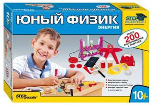Настольная игра Юный физик. Энергия. Научно-познавательный набор