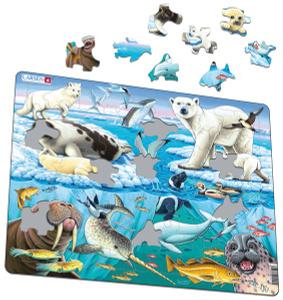 Настольная игра Арктика, Пазл 75 элементов