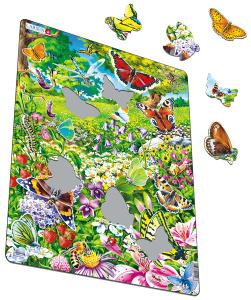 Настольная игра Бабочки, Пазл 42 детали