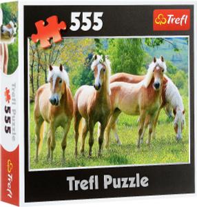 Настольная игра Кони на пастбище, Пазл 555 элементов