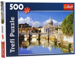 Настольная игра Ватикан, Рим, Италия, Пазл 500 деталей