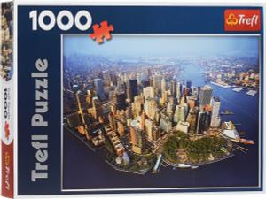 Настольная игра Нью-Йорк, Пазл 1000 элементов