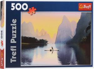 Настольная игра Река Лицзян, Китай, Пазл 500 элементов