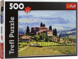 Настольная игра Тоскана, Италия, Пазл 500 элементов
