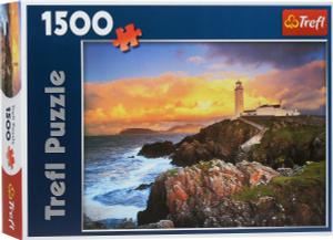 Настольная игра Маяк на мысе Фанад, Ирландия, Пазл 1500 деталей