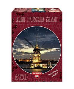 Настольная игра Девичья башня. Стамбул. Турция. Пазл-часы