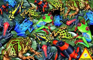 Настольная игра Лягушки. Пазл (1000 элементов)