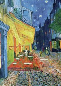 Настольная игра Ночная терраса кафе, Ван Гог, Пазл 1000 элементов