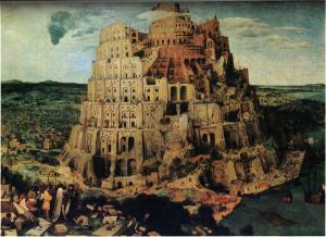 Настольная игра Вавилонская башня, Брюгель. Пазл, 1000 элементов