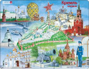 Настольная игра Кремль. Пазл (61 элемент)