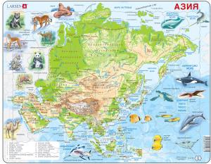 Настольная игра Животные Азии. Пазл