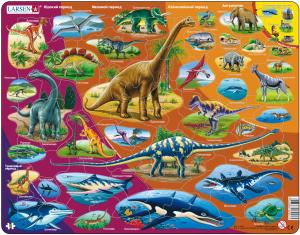 Настольная игра Динозавры. Пазл HL1
