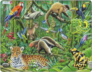 Настольная игра Южно-американские тропики. Пазл