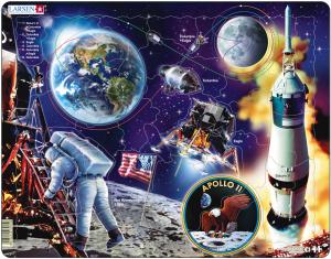 Настольная игра Аполло 11. Пазл 50 деталей