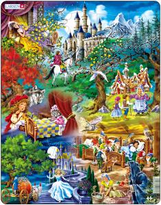Настольная игра Сказки братьев Гримм, Пазл 33 элемента