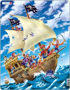 Настольная игра Пираты. Пазл Larsen