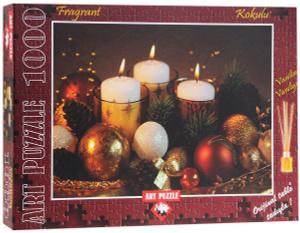 Настольная игра Новогодняя композиция. Х.Мутчлер. Пазл с запахом, 1000 деталей