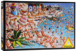 Настольная игра Пляж. Пазл (1000 элементов)